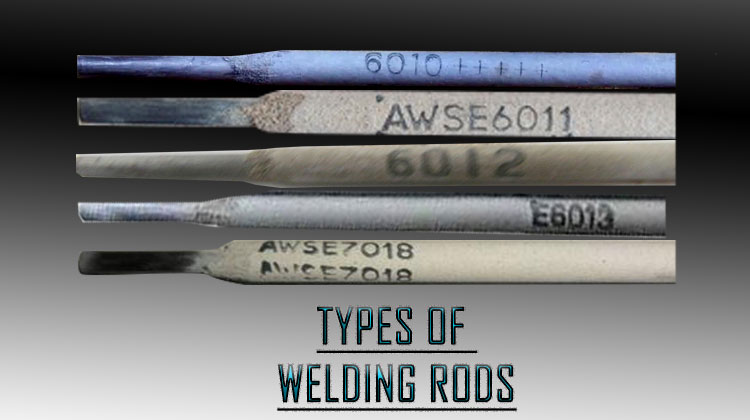 Types of Welding Stick Rods