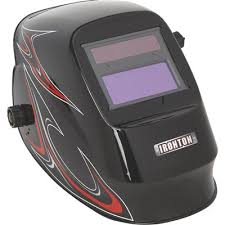 Variable-shade welding helmet