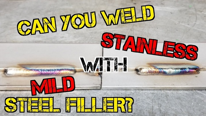 Can you weld stainless steel with normal MIG wire