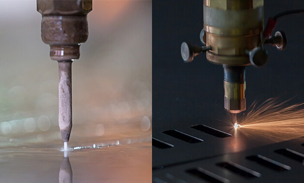 Plasma Cutting Vs Laser Cutting Vs Waterjet