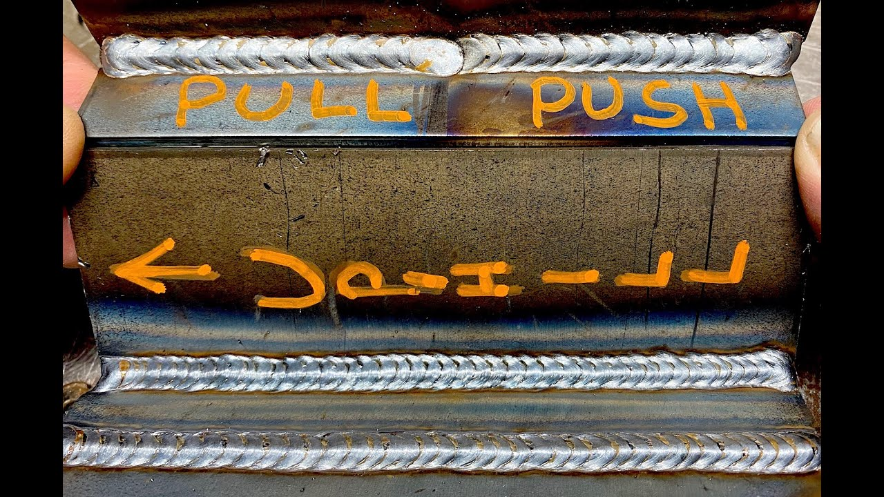 MIG Welding: Push or Pull